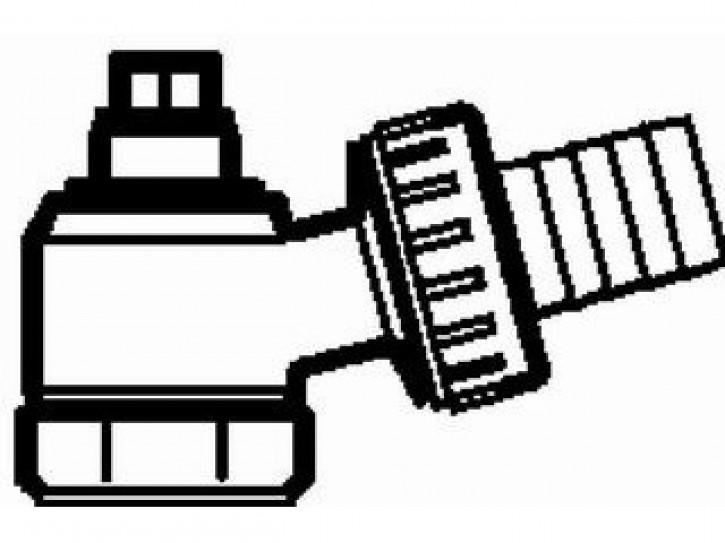 Danfoss Füll- u. Entleerungsarmatur mit Schlauchtülle, f.alle RLV(-K)/VHS