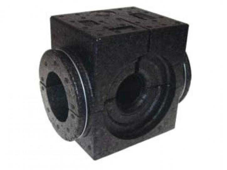 Danfoss EPP-Isolierschale DN 50, schwarz bis 120 C, für USV-I/M