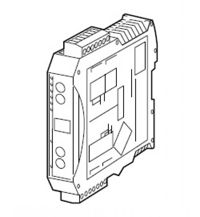Datenprotokoll-Umsetzer eBUS/Modbus-RTU Set Gateway Unigate eBUS/Modbus-RTU