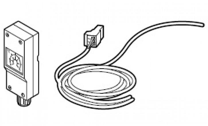 Pumpenabschalt-Set für Fußbodenheizung in Verbindung mit WCM-EM, WRS-EM, CPU B3