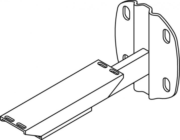 kermi wandkonsole typ16 wei zb00880003. Black Bedroom Furniture Sets. Home Design Ideas