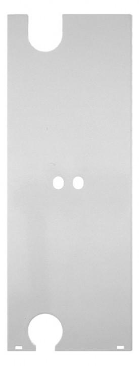 Kermi seitl. Abdeckung f. rechtss Anschl f. Typ 33, links, BH 600/605