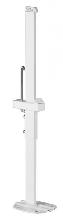 Kermi Standkonsole innenliegend teilbar f. Fertigbodenmont. BH 300-554mm