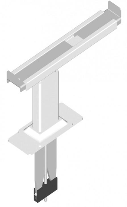 Kermi Fensterbankträger Typ22/33 Verstellb160-270mm Einst.höhe 80-120mm