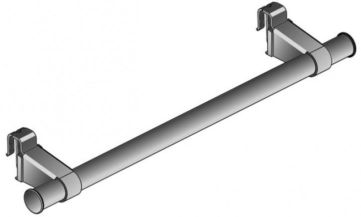 Kermi Handtuchhalter Flachheizkörper L=450mm weiß ZC