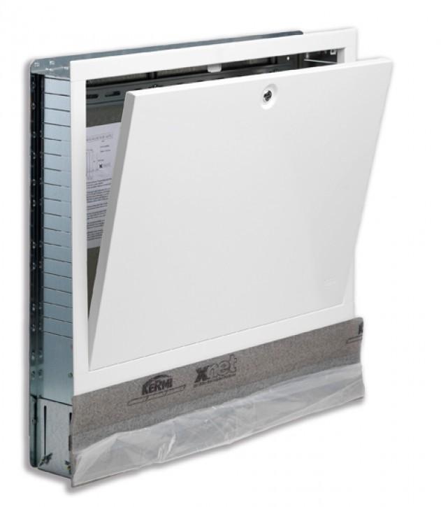 Kermi x-net Verteilerschrank UX-L1 UP-Komfort lackiert, Breite: 450 mm