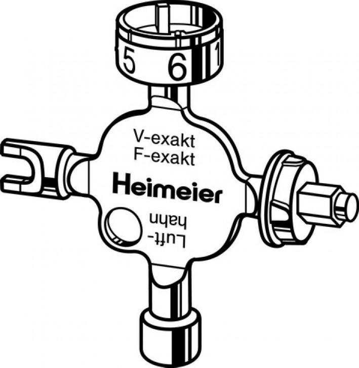 HEIMEIER Universalschlüssel f. V/F-exakt, Regulux, Vekolux, B-Kopf