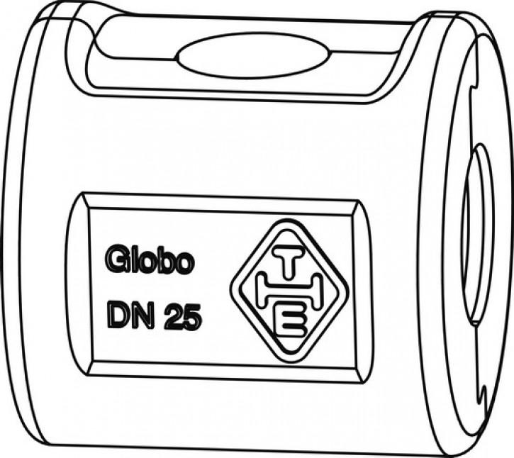 HEIMEIER Wärmedämmschale für Globo H, P IG, Pressanschluss, DN 25