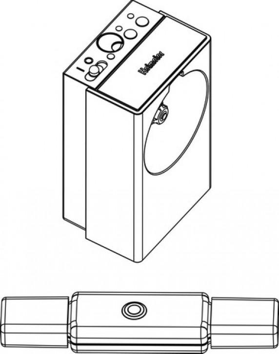 HEIMEIER E-Pro Startpaket Inhalt: 1x E-Pro und 1x E-Pro Stick
