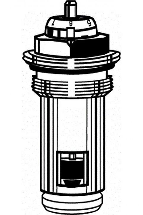 HEIMEIER Thermostat-Oberteil für VHK mit genauer Voreinstellung, Gew. G 1/2