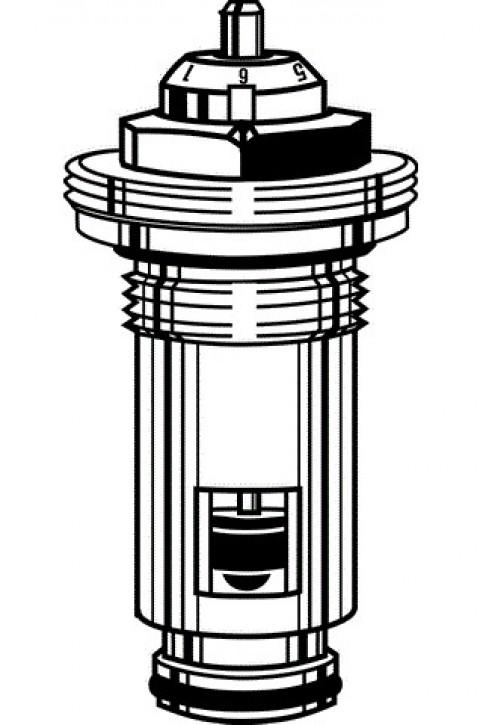 HEIMEIER Thermostat-Oberteil für UVHK mit genauer Voreinstellung, G 1/2