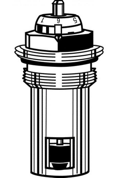 HEIMEIER Thermostat-Oberteil für VHK mit genauer Voreinstellung, M22x1,5