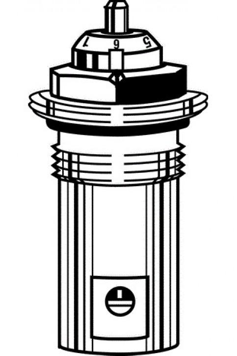 HEIMEIER Thermostat-Oberteil für VHK mit genauer Feinsteinstellung, M22x1,5
