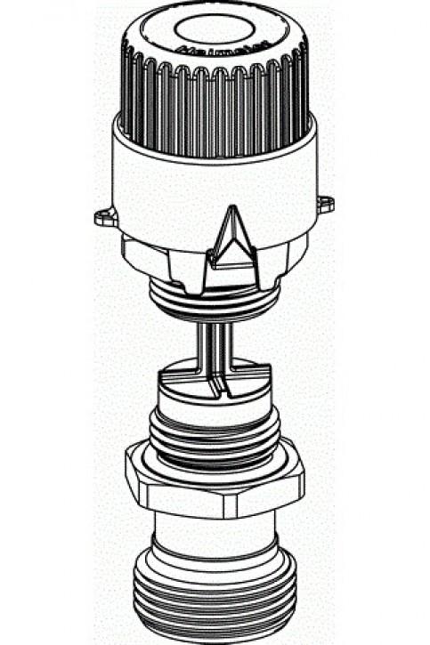 HEIMEIER Durchflussregel-Einsatz Ersatz-Oberteil für Dynacon Verteiler