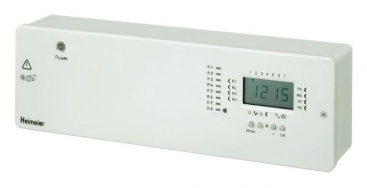 HEIMEIER Radiocontrol F Zentraleinheit 8-Kanal mit Zeitschaltuhr