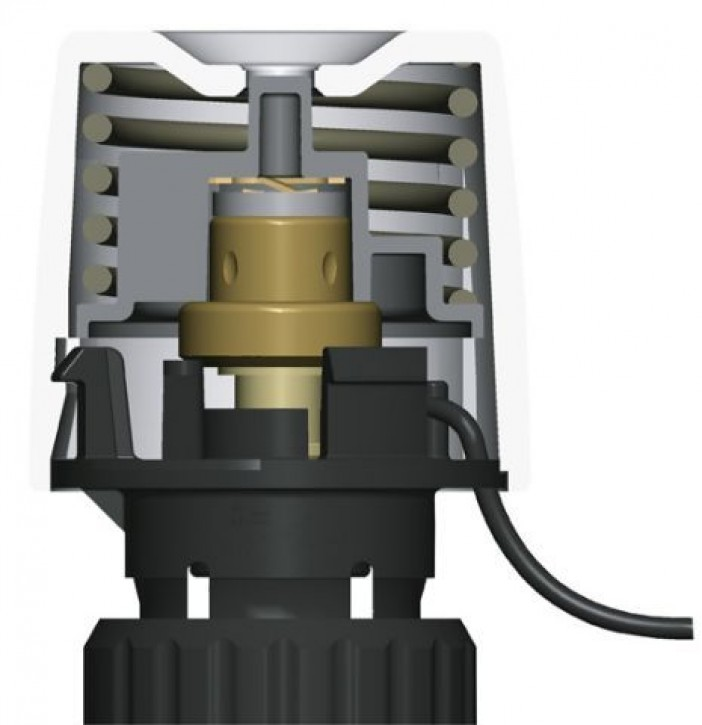 HEIMEIER Thermischer Stellantrieb EMOtec 230 V, stromlos geschlossen (NC)