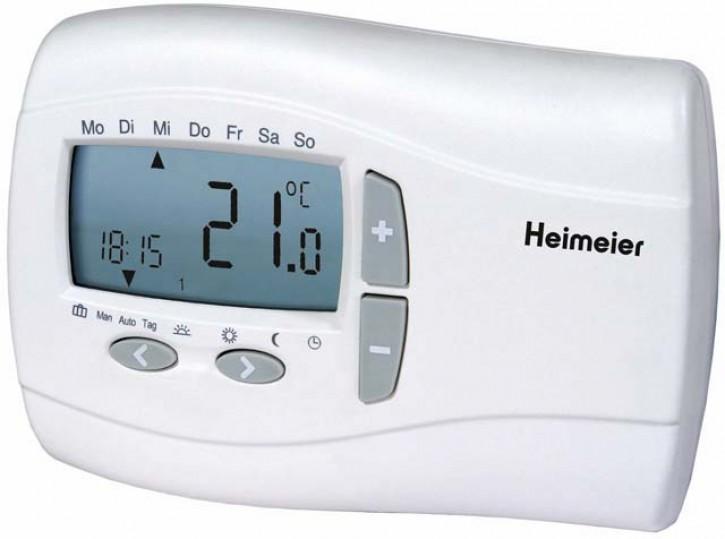 HEIMEIER Thermostat P, digit.7-Tage Uhr 230 V, für thermische Stellantriebe
