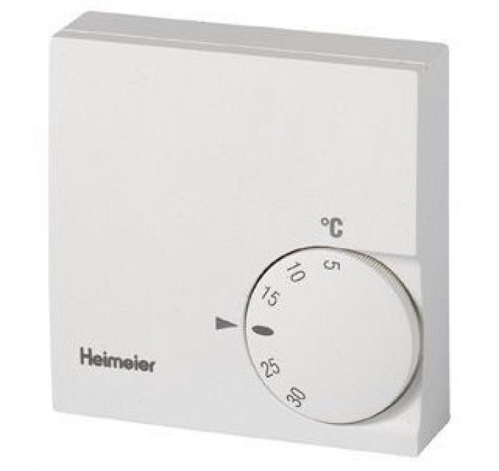 heimeier raumthermostat 230 v ohne temperaturabsenkung. Black Bedroom Furniture Sets. Home Design Ideas