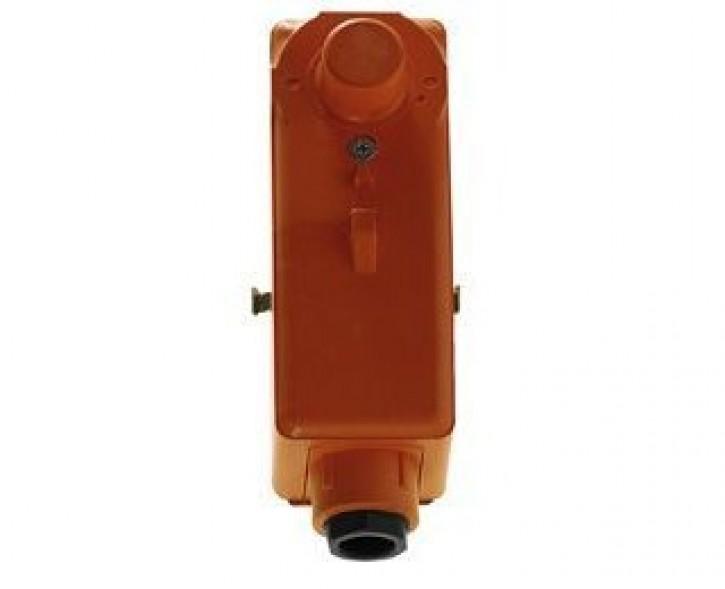 HEIMEIER Elektr. Rohranlegeregler mit verdeckter Temperatureinstellung.