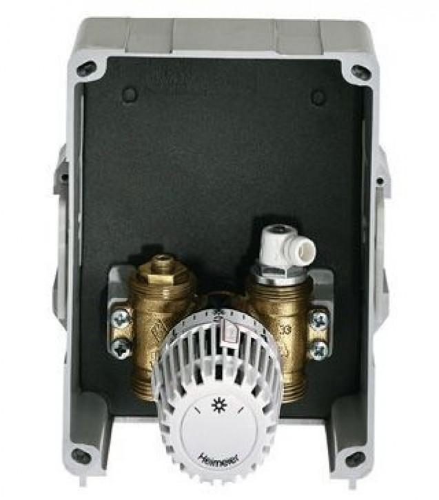 HEIMEIER UP-Kasten Multibox K mit Thermostatventil, weiß RAL 9016
