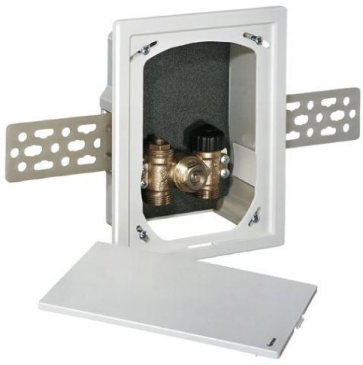 HEIMEIER UP-Kasten Multibox C/E mit Thermostat-Oberteil, weiß RAL 9016