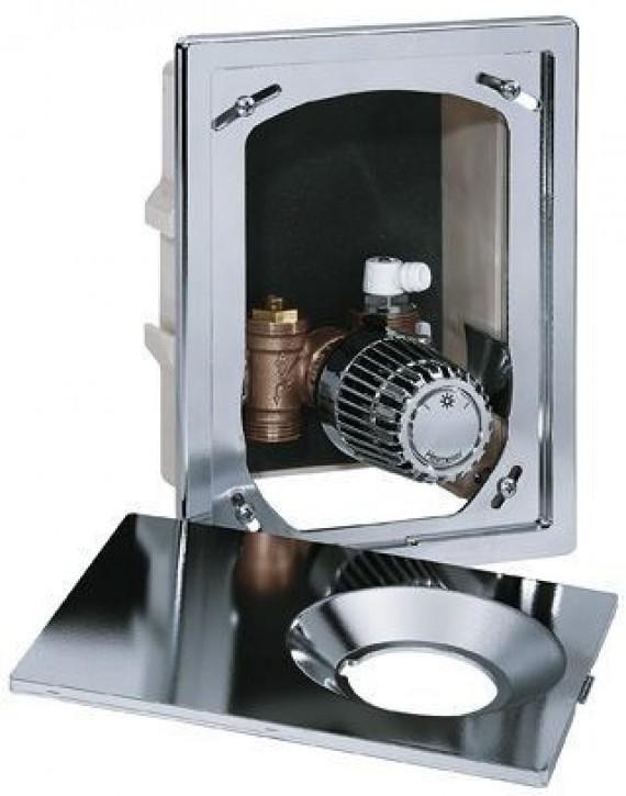 HEIMEIER UP-Kasten Multibox K mit Thermostatventil, verchromt