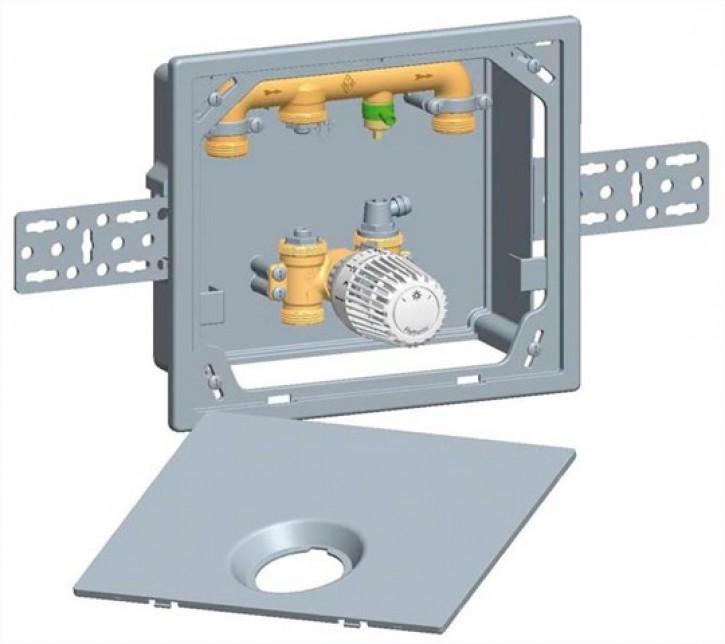 HEIMEIER UP-Kasten Multibox 4 K mit Thermostatventil, weiß RAL 9016