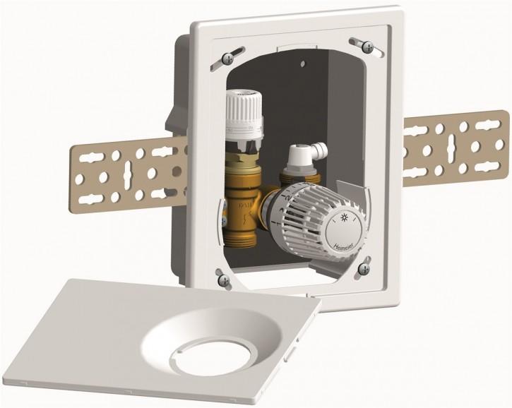 HEIMEIER UP-Kasten Multibox AFC K mit Thermostatventil, weiß RAL 9016