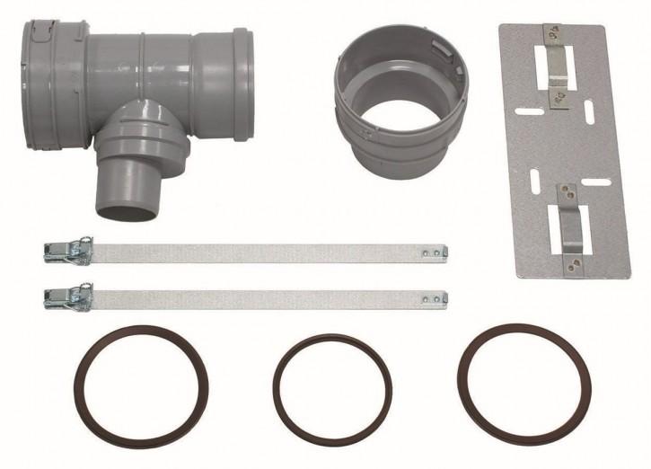 VAILLANT Set 7 T-Stück DN 100 für Abgas- anschl. 60/100 f.flex. Abgasl. DN 100,PP