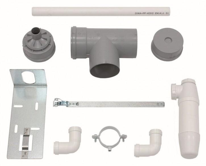 VAILLANT Set 9 Kondenswasserschale für flexible Abgasleitung DN 100, PP
