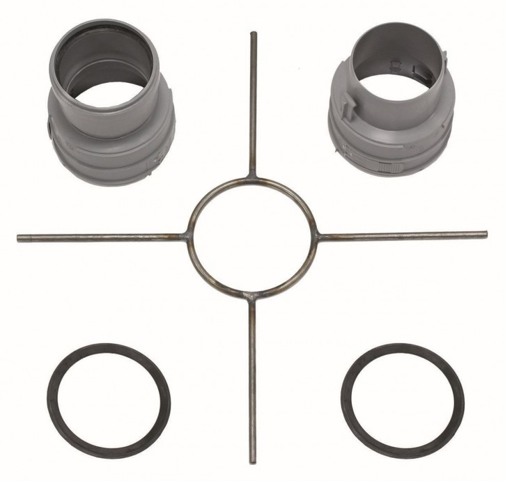 VAILLANT Set 6 Grundelemente Brennwert für flexible Abgasleitung DN 80, PP
