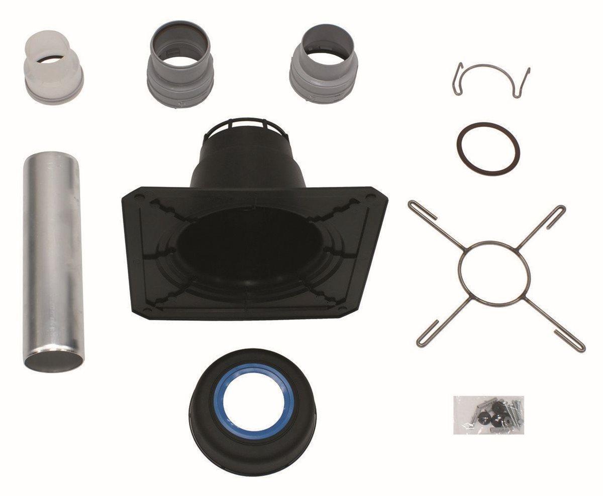 vaillant basis anschluss set f r flexible abgasleitung dn 100 pp 303516. Black Bedroom Furniture Sets. Home Design Ideas