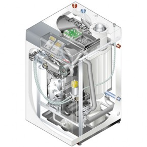 Weishaupt Thermo Condens Ölbrennwert Typ WTC-OB 45-A Ausf. H-PEA